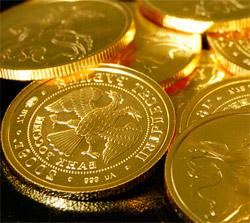 Купить золото в монетах в сбербанке