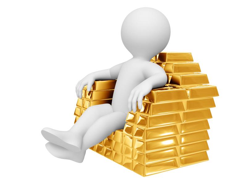 Цена на золото на спотовом рынке